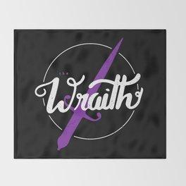 The wraith Throw Blanket