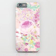 Flower bouquet in pink iPhone 6s Slim Case