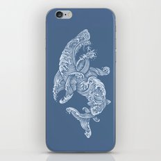 the Shark (Blue Version) iPhone & iPod Skin