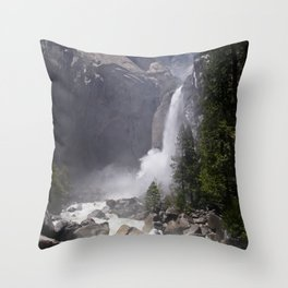 Mists of Nature Throw Pillow