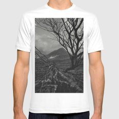 The web of winter MEDIUM White Mens Fitted Tee
