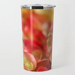 Begonias Travel Mug