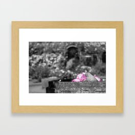 Stone Bird Framed Art Print