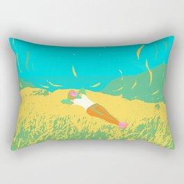 COMET GAZING Rectangular Pillow