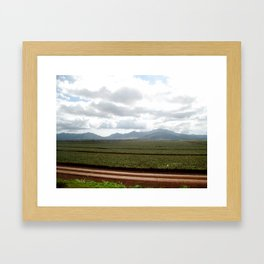 north shore Framed Art Print