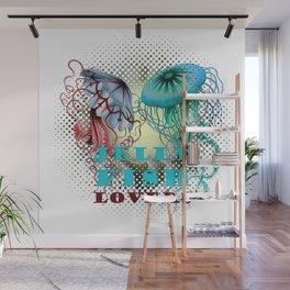 JellyFish Lovers Wall Mural
