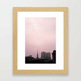 Notre Dame Framed Art Print