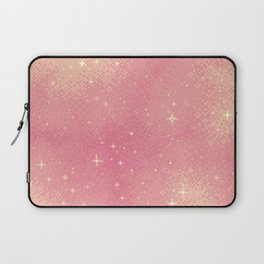 Rose Gold Galaxy Laptop Sleeve
