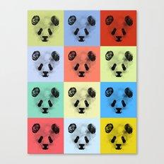 Panda Panda Panda Canvas Print