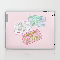 Put It On My Card Laptop & iPad Skin