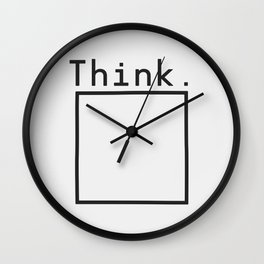 Outside the Box Wall Clock