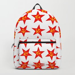 USSR red star pattern Backpack