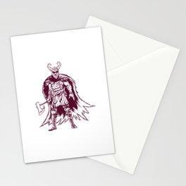 Odin Viking Warrior Nordische Mythologie Stationery Cards