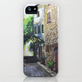Rural Alley iPhone Case