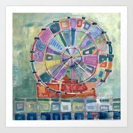 Ferris Wheee! Art Print