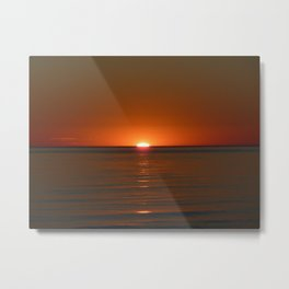 Michigan Sunset 4 Metal Print