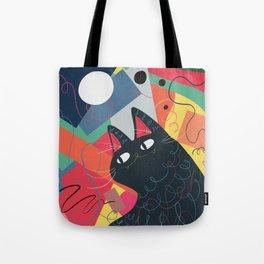 Trumpet Cat Tote Bag