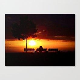 Don't Ever Let The Sun Go Canvas Print