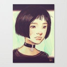 The Professional: Mathilda Canvas Print