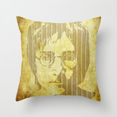 There is a MAGI in Imagine Throw Pillow