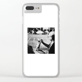The Cat's Meow Clear iPhone Case