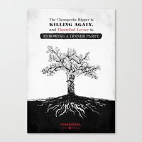 Hannibal - Futamono Canvas Print