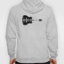 Guitar - Nature Reflection With Moon Hoody