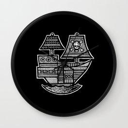 Pirate Ship - Hollow Soul Wall Clock