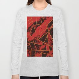 Abstract #942 Long Sleeve T-shirt