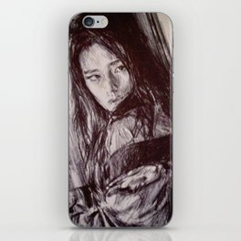 GEISHA GIRL iPhone Skin