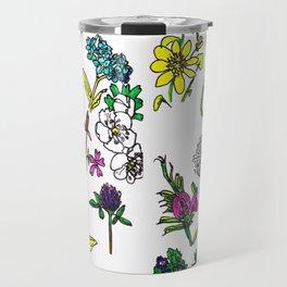 Scottish Summer Wildflowers Travel Mug