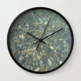 Pebbles Wall Clock