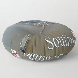 Southport, England Floor Pillow