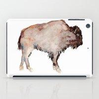 buffalo iPad Cases featuring Buffalo by Elena Sandovici