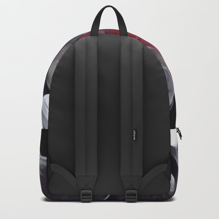Red smoke Backpack