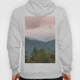 Great Smoky Mountain National Park Sunset Layers III - Nature Photography Hoody
