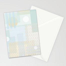 City dawn Stationery Cards