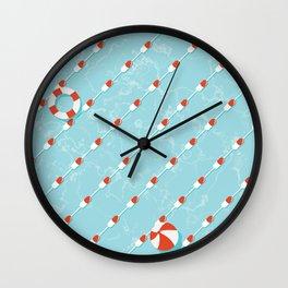 Pills Pattern 012 Wall Clock