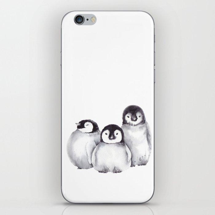 Baby Penguins iPhone Skin