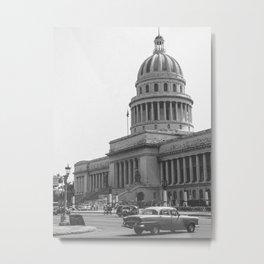 Capitolio Havana (Cuba) Metal Print
