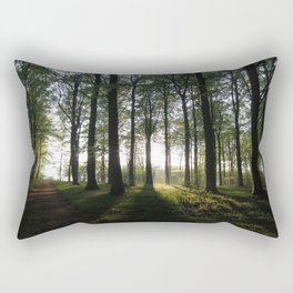 Light at the End of the Trees Rectangular Pillow