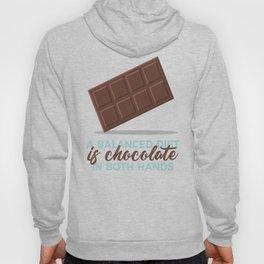 Balanced Diet Chocolate Lover Sweet Love Hoody