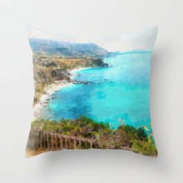 South breeze Throw Pillow