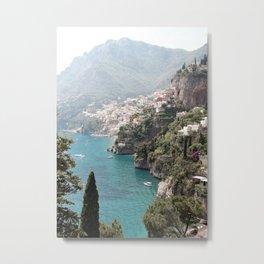 Amalfi Coast - Italian Beach - Italy Metal Print
