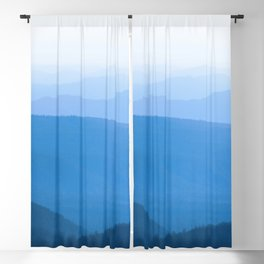 Blue Smoky Mountains Blackout Curtain