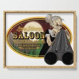 Jenny O'Meara's Saloon Serving Tray