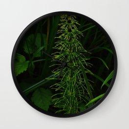 First greenery Wall Clock