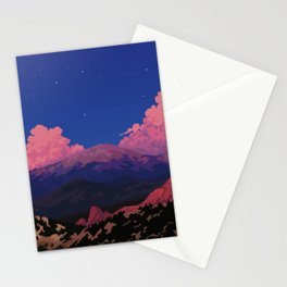 Sunset at Garden of the Gods Stationery Cards