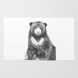 Malayan Sun Bear (Beruang Madu) Rug