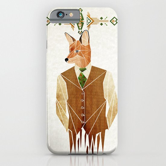 mister fox iPhone & iPod Case